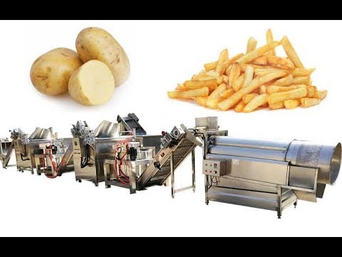 Equipment For Making Pre-fried French Fries|Machine For Frozen French Fry Business