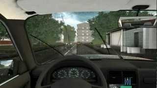 City Car Driving 1.2.2 + Porsche 911 Carrera Wheel