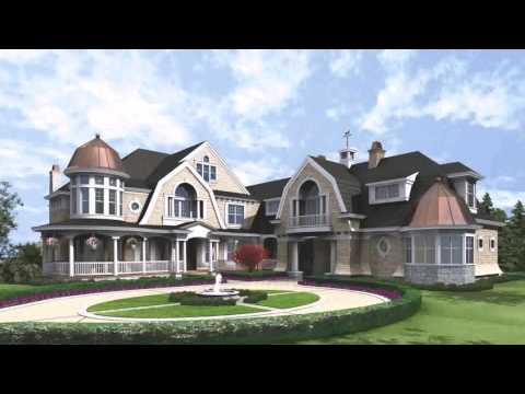 Cape Cod Shingle Style House Plans