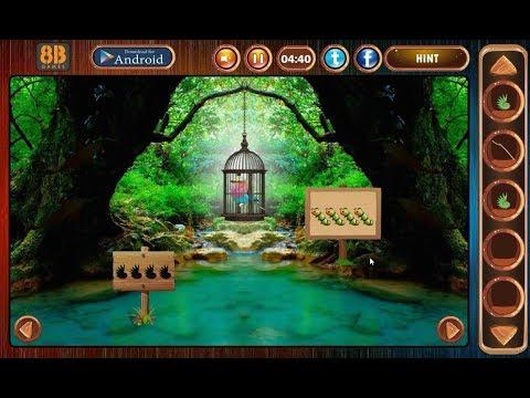 8b Roller Bird Escape walkthrough 8bGames.