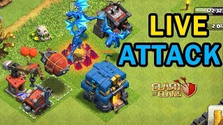 🔴Live Town Hall 12 Attacks #8