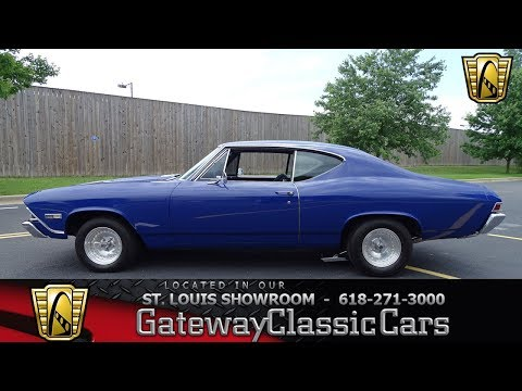 1968 Chevrolet Chevelle SS Stock #7722 Gateway Classic Cars St. Louis Showroom