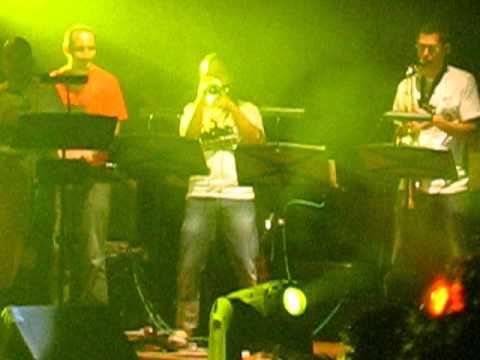 Sai Hei Maria Cordero John Campo on trumpet
