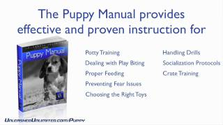 The Puppy Training Manual