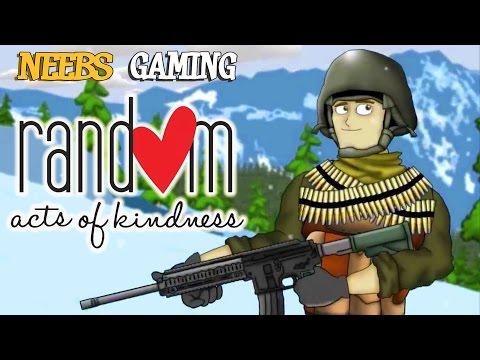Battlefield Friends - Random Acts of Kindness (Battlefield 4 Gameplay)