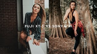 Fuji Xt3 Vs Sony A7iii For Photography In Depth Review