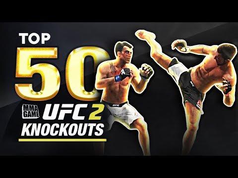 EA SPORTS UFC 2 - TOP 50 UFC 2 KNOCKOUTS - Community KO Video ep. 17
