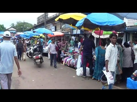 Mapusa Friday Market At Goa, India - Goa Tourism