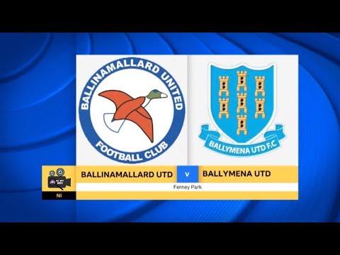 Ballinamallard Utd Vs Ballymena United - 23rd September 2017