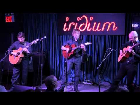 California Guitar Trio plays Pink Floyd at The Iridium (7.6.11)