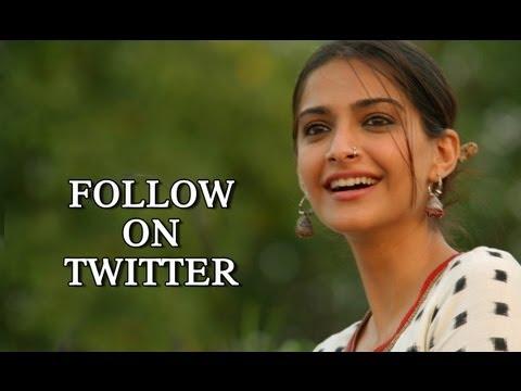 Follow Sonam Kapoor On Twitter - 'Raanjhanaa'