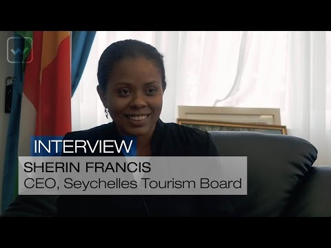 Sherin Francis, CEO, Seychelles Tourism Board - World Investment Interviews