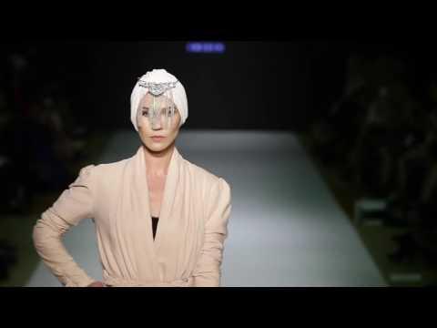 IMAN ALDEBE Mercedes Benz Fashion Week Doha Qatar