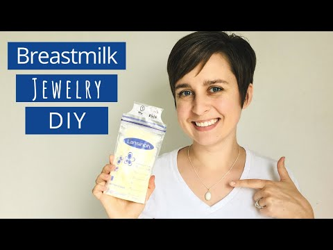 DIY Breastmilk Jewelry START TO FINISH! Make a breastmilk keepsake at home!