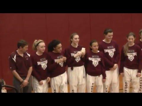NCCS - Saranac Girls  2-4-16
