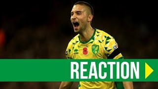 Norwich City 4-3 Millwall: Moritz Leitner Reaction