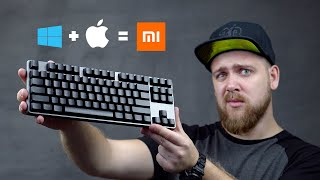 Клавиатура для Apple от Xiaomi  🤯