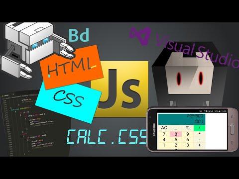 Мобильное приложение на HTML (калькулятор) ч 2