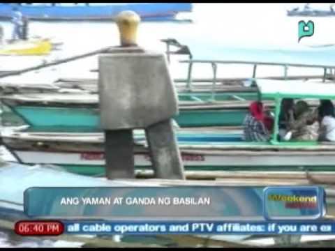[The Weekend News] Ang yaman at ganda ng Basilan [04|26|14]