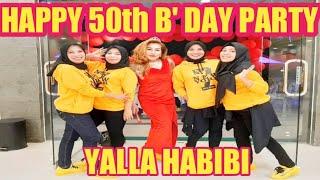 YALLA HABIBI - HAPPY 50th BIRTHDAY PARTY - ELLEN AERO