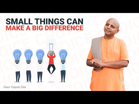 If you want to change your life watch this by Gaur Gopal Das