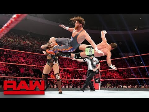 Zack Ryder & Curt Hawkins vs. The Viking Raiders: Raw, May 6, 2019