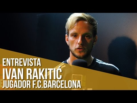 Entrevista Ivan Rakitic, jugador F.C.Barcelona / adidas ace