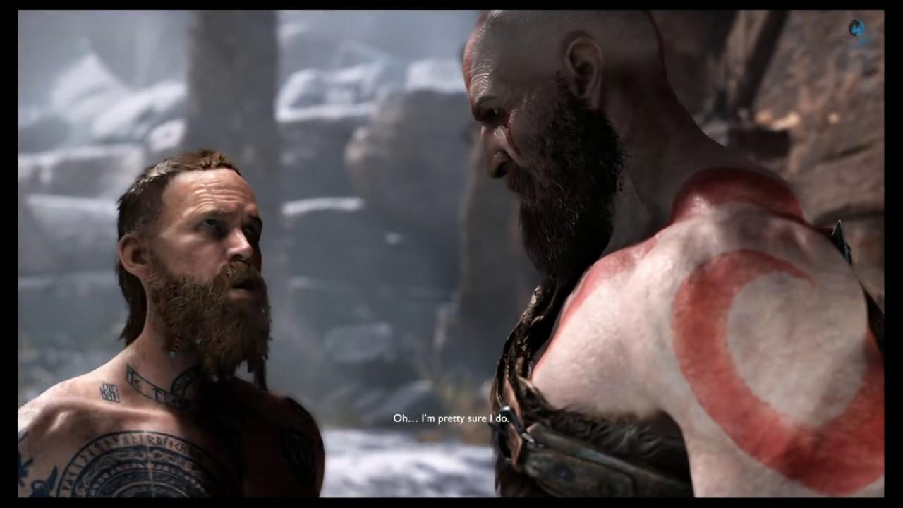 God Of War Ps4 Kratos Vs Baldur All Fights