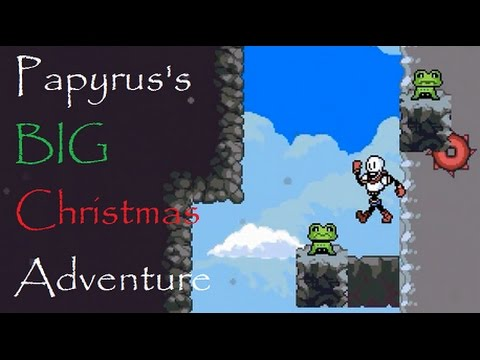 Papyrus's Big Christmas Adventure - HARD TO THE BONE - Undertale ...