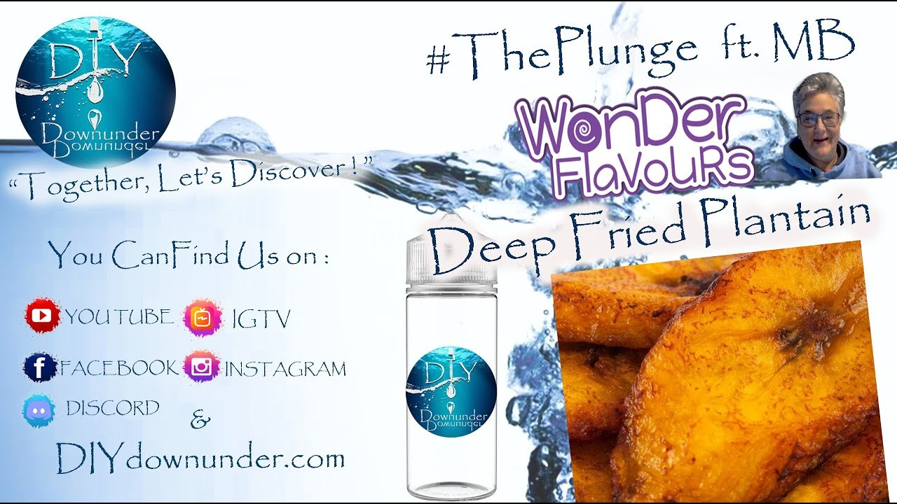 💦 #ThePlunge FT MB - WF Deep Fried Plantains