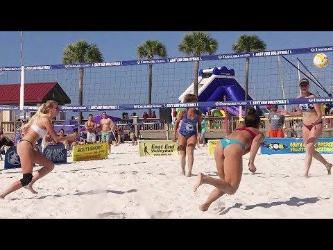 Best of Beach Volleyball Girls | Clearwater Beach, FL