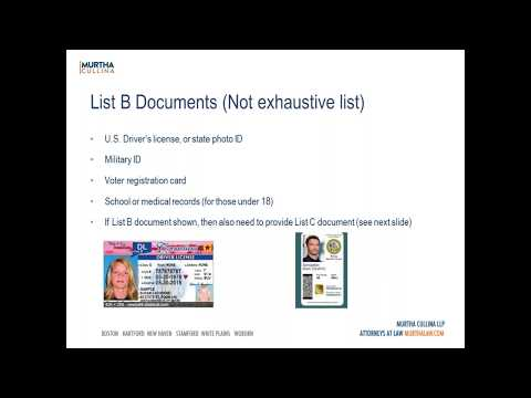 Labor and Employment Webinar: Trending Topics in Employment Based Immigration Law