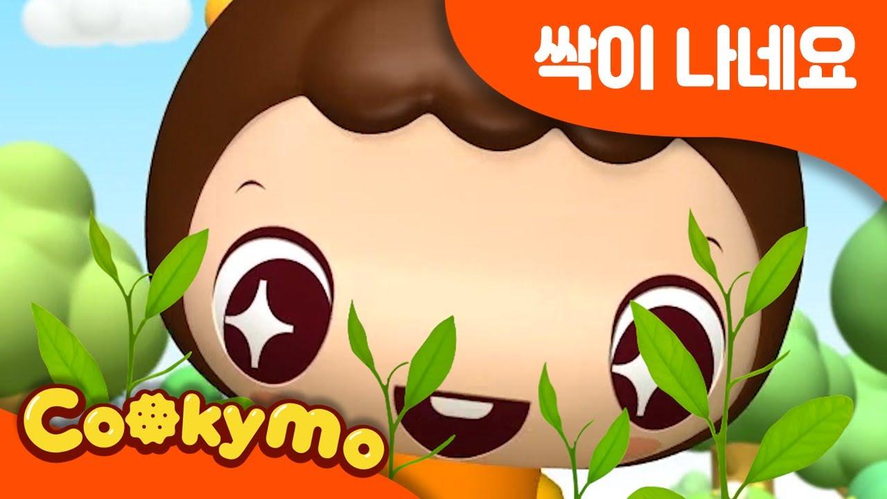 싹이 싹이 나네요 | 봄동요 | 새싹동요 | 꾸러기동요 | By Cookymo