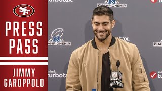 Jimmy Garoppolo on the 49ers 37-20 Win vs. GB