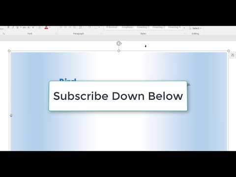 Creating flash cards in microsoft word - YouTube