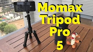 📷  Momax Tripod Pro 5 - טריפוד לטלפון שלכם  📷