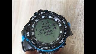 НОВИНКА! Убийца Касео:) Pro-Trek! Классные трековые часы! Sunroad FR861 обзор.