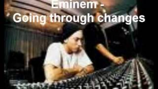 EMINEM - GOING THROUGH CHANGES [WITH LYRICS] [RECOVERY]