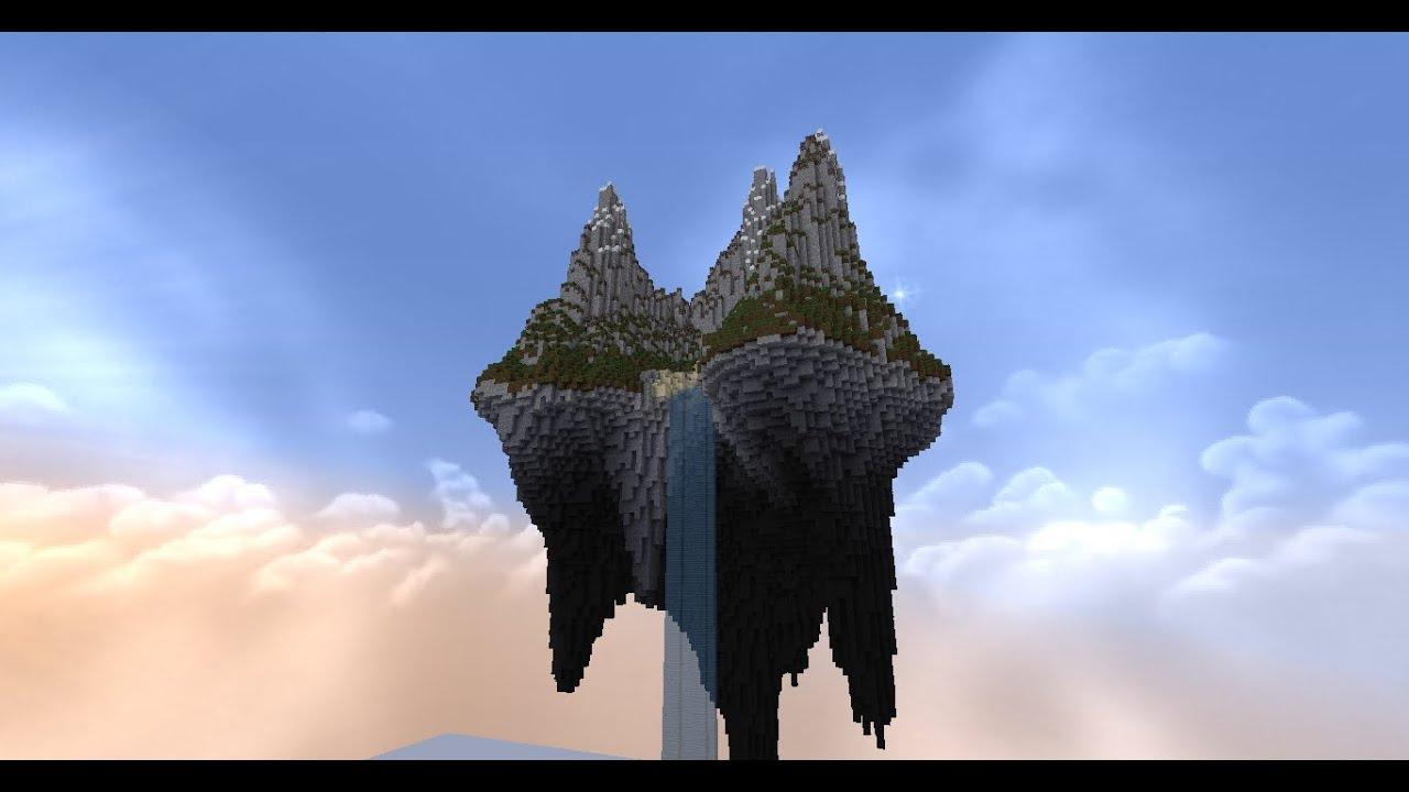 Ile Volante terraforming accéléré ep2 : ile volante - youtube