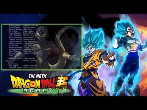 Dragon Ball Super Broly CREDITS Blizzard English Version