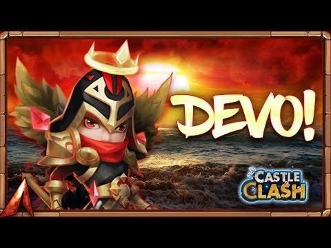 Castle Clash Double Evolving Michael!!