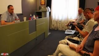 Судак. Мэр Серов - диалог с информационной общественностью