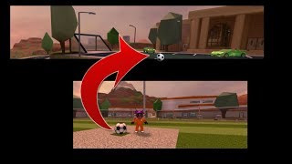 Roblox Jailbreak-Finding Out What Happens When You Put The Soccer Ball From The Prison Into The Goal