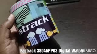 Fastrack 38045PP03 digital watch | Fastrack #fastrackdigitalwatch