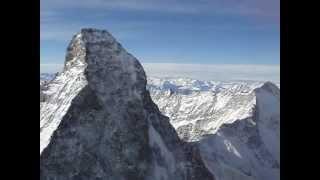 Towards the top of the Matterhorn...