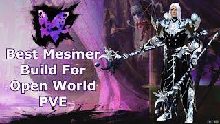 Guild Wars 2 : Bęst Mesmer Build For Open World PVE ( Just DODGE )