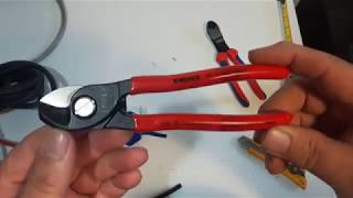 Knipex 6-1/2 inch Cable Shear 95 11 165 Review.