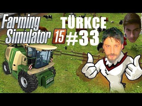 Farming Simulator 15 Türkçe Multiplayer | Biyogazda Takla | Bölüm 33