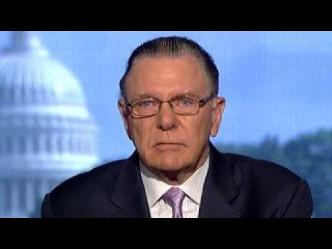 Gen. Jack Keane reacts to US Navy ship collision