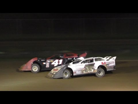 Crate Late Model Heat Three | McKean County Raceway | Fall Classic | 10-14-16